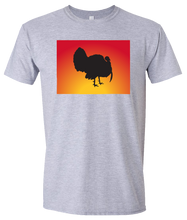 Load image into Gallery viewer, Short Sleeve T-Shirt Colorado Athletic Heather Turkey Vibrant Design High Quality Tight Knit Ring Spun Low Maintenance Cotton Printed With The Newest Available Color Transfer Technology