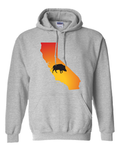 Load image into Gallery viewer, Pullover Hooded Sweatshirt California Athletic Heather Wild Hog Vibrant Design High Quality Tight Knit Ring Spun Low Maintenance Cotton Printed With The Newest Available Color Transfer Technology