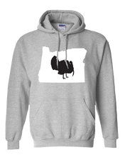 Load image into Gallery viewer, Pullover Hooded Sweatshirt Oregon Athletic Heather Turkey Vibrant Design High Quality Tight Knit Ring Spun Low Maintenance Cotton Printed With The Newest Available Color Transfer Technology