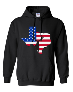 Pullover Hooded Sweatshirt Texas Black Mule Deer Vibrant Design High Quality Tight Knit Ring Spun Low Maintenance Cotton Printed With The Newest Available Color Transfer Technology