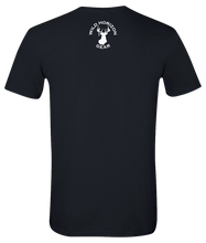 Load image into Gallery viewer, Short Sleeve T-Shirt Virginia Black Black Bear Vibrant Design High Quality Tight Knit Ring Spun Low Maintenance Cotton Printed With The Newest Available Color Transfer Technology