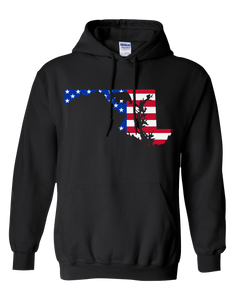 Pullover Hooded Sweatshirt Maryland Black Black Bear Vibrant Design High Quality Tight Knit Ring Spun Low Maintenance Cotton Printed With The Newest Available Color Transfer Technology
