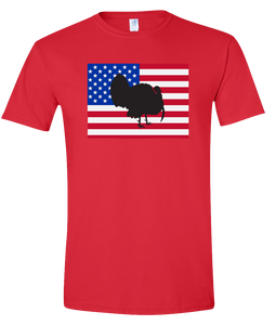 Short Sleeve T-Shirt Colorado Red Turkey Vibrant Design High Quality Tight Knit Ring Spun Low Maintenance Cotton Printed With The Newest Available Color Transfer Technology