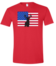 Load image into Gallery viewer, Short Sleeve T-Shirt Colorado Red Whitetail Deer Vibrant Design High Quality Tight Knit Ring Spun Low Maintenance Cotton Printed With The Newest Available Color Transfer Technology