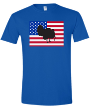 Load image into Gallery viewer, Short Sleeve T-Shirt Colorado Royal Turkey Vibrant Design High Quality Tight Knit Ring Spun Low Maintenance Cotton Printed With The Newest Available Color Transfer Technology