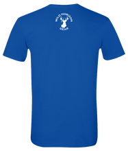 Load image into Gallery viewer, Short Sleeve T-Shirt Colorado Royal Moose Vibrant Design High Quality Tight Knit Ring Spun Low Maintenance Cotton Printed With The Newest Available Color Transfer Technology