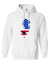 Load image into Gallery viewer, Pullover Hooded Sweatshirt New Jersey White Turkey Vibrant Design High Quality Tight Knit Ring Spun Low Maintenance Cotton Printed With The Newest Available Color Transfer Technology