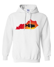 Load image into Gallery viewer, Pullover Hooded Sweatshirt Kentucky White Large Mouth Bass Vibrant Design High Quality Tight Knit Ring Spun Low Maintenance Cotton Printed With The Newest Available Color Transfer Technology