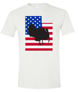 Short Sleeve T-Shirt Utah White Turkey Vibrant Design High Quality Tight Knit Ring Spun Low Maintenance Cotton Printed With The Newest Available Color Transfer Technology
