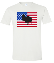 Load image into Gallery viewer, Short Sleeve T-Shirt Colorado White Turkey Vibrant Design High Quality Tight Knit Ring Spun Low Maintenance Cotton Printed With The Newest Available Color Transfer Technology