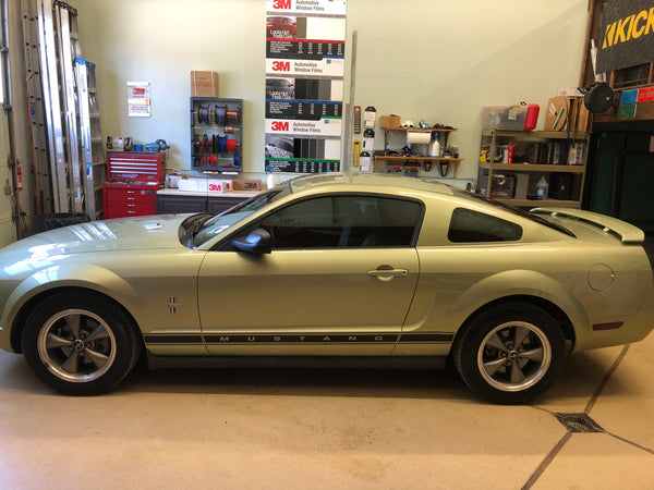 2006 Ford Mustang Window Tinting