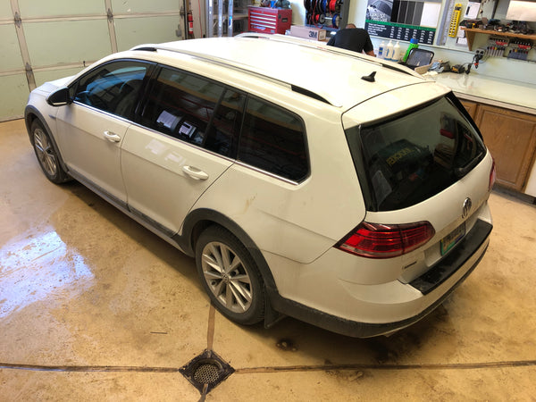 2018 VW Golf Wagon Window Tint