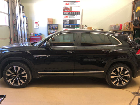 2020 Volkswagen Atlas from windows tinted with 3M Ceramic IR30.