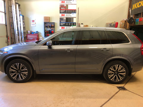 2020 Volvo XC90 Front Windows Tinted with 3M Ceramic IR30