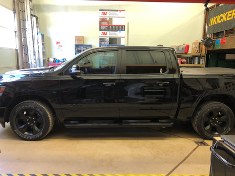 2019 RAM 1500 Front and Rear Windows Tinted