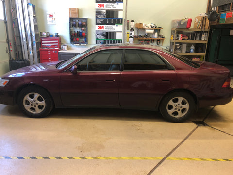1998 ES300 Front and Rear Windows Tinted