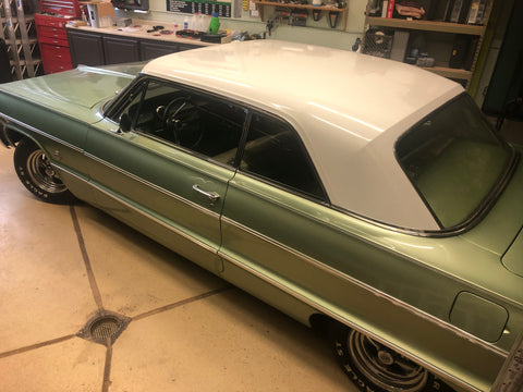 64' Impala back glass in factory condition