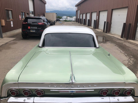 1964 Chevy Impala rear window tinting