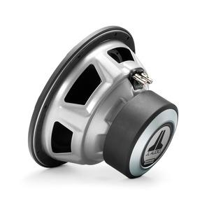 JL Audio 10W3v3 : 10-Inch 500-Watt Subwoofer Driver, 2-Ohm or 4-Ohm SVC, rear side view.