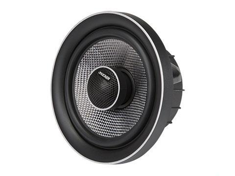 "90W 6.5"" Component Speakers, Coaxial Convertible : Kicker 41QSS654, shown as convertible coaxial configuration."