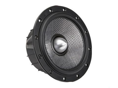 "90W 6.5"" Component Speakers, Coaxial Convertible : Kicker 41QSS654, woofer."