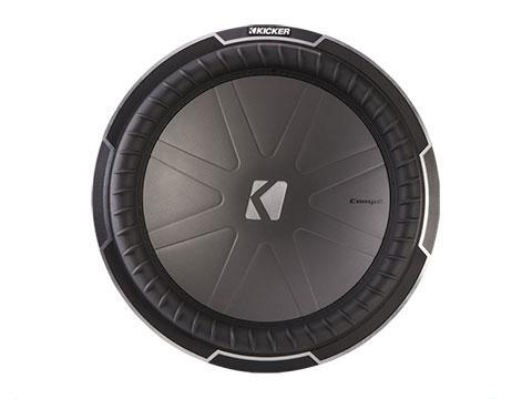 "750W 10"" Subwoofer Driver, 2Ω or 4Ω Dual Voice Coil : Kicker 42CWQ10"