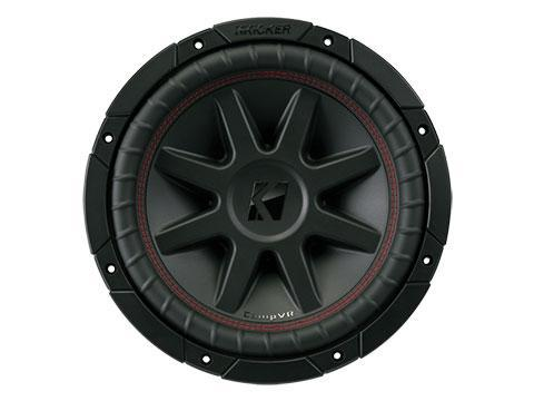 "350W 10"" Subwoofer Driver, 2Ω or 4Ω Dual Voice Coil : Kicker 43CVR10"