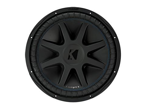 "600W 10"" Subwoofer Driver, 2Ω or 4Ω Dual Voice Coil : Kicker 44CVX10"