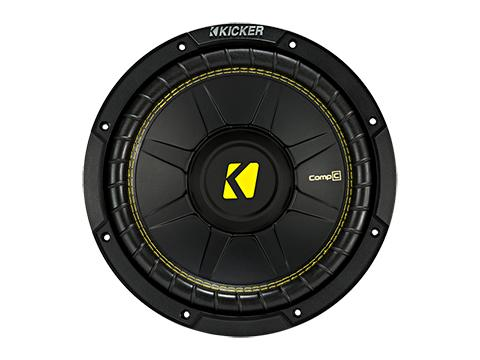 "300W 10"" Subwoofer Driver, 4Ω Single or Dual Voice Coil : Kicker 44CWC"