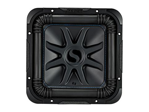 "600W 10"" Square Subwoofer Driver, 2Ω or 4Ω Dual Voice Coil : Kicker 44L7S10"