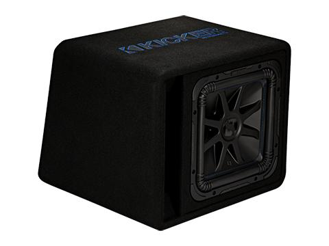 "750W 12"" Subwoofer Enclosure, 2Ω Configuration : Kicker 44VL7S122"