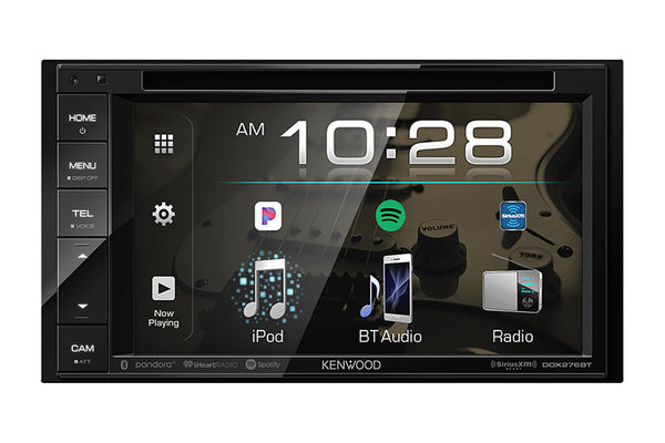 "Kenwood DDX276BT - DDIN Size 6.2"" CD/DVD BT Head Unit"