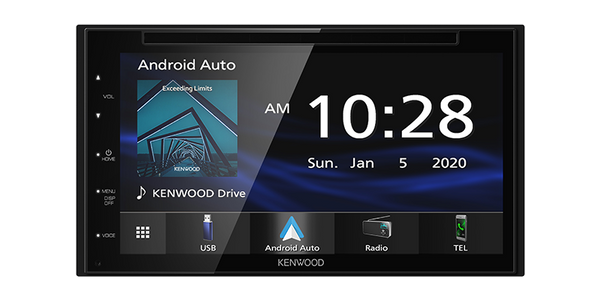"DDX5707S : Kenwood 6.2"" DDIN Size Head Unit - CD/DVD BT"