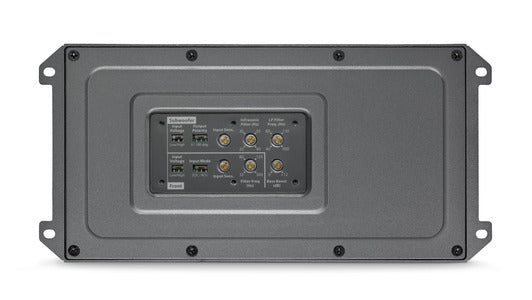 JL Audio MX600/3 - 3ch 600W/400W @ 2Ω/4Ω Marine Amplifier, settings section.