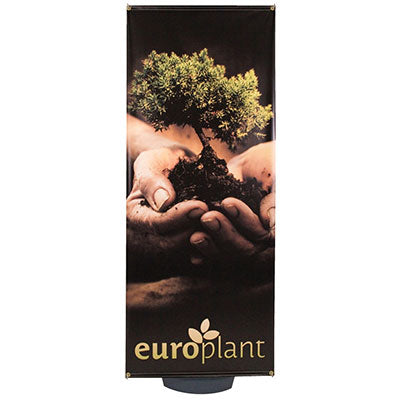 Zeppy Outdoor Banner Stand Graphic Package - Qlevo - Clever Living
