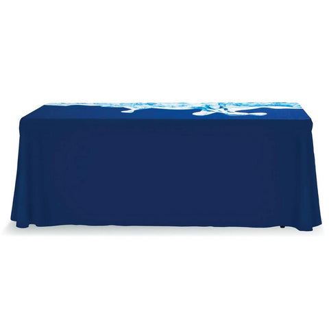 Full Color Table Throw 6 Ft. With Dye Sub Print - Qlevo - Clever Living