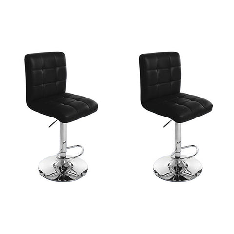 Bar Stool - Gaylord PU Swivel Adjustable (Set of 2)