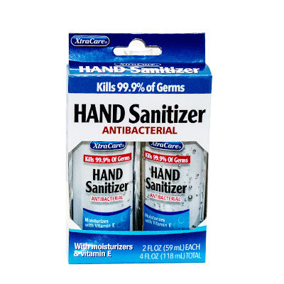 Hand Sanitizers Pack of 2, 2oz. each - Qlevo - Clever Living