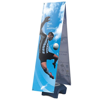 Zephyr Outdoor Banner Stand Graphic Package - Qlevo - Clever Living