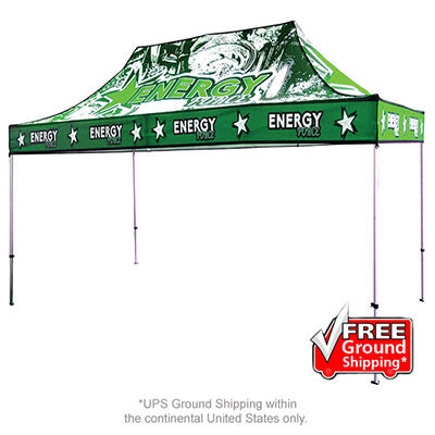 15 Ft. Casita Canopy Tent Full-Color UV Print Graphic Package - Qlevo - Clever Living