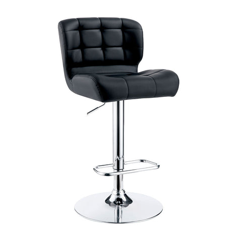 Raelyn Contemporary Style Tufted Swivel Adjustable Bar Chair