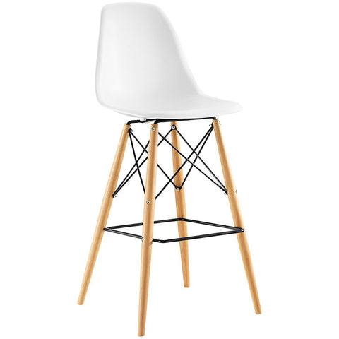 Bar Stool - Wood Pyramid