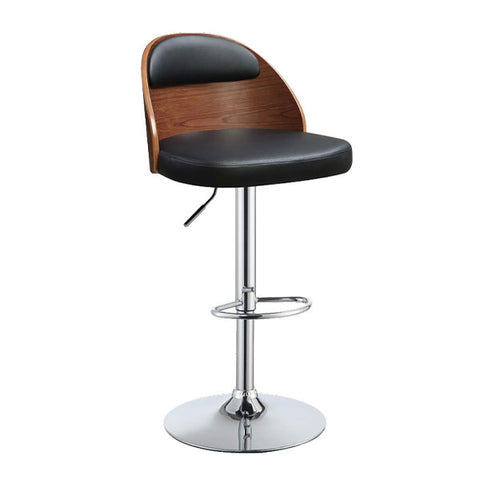 Camilla PU Swivel Adjustable Bar Stool - Qlevo - Clever Living