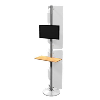 Linear TV Mount Kiosk 07 - Qlevo - Clever Living