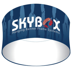 Skybox Fabric Circle Hanging Banner - Qlevo - Clever Living