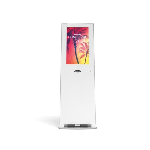 "Concierge Kiosk 21.5"" with Rechargeable Battery (Touch Screen) - Qlevo - Clever Living"