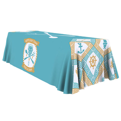 ONE CHOICE - Table Throw Full Color 8 Ft 4-Sided - Qlevo - Clever Living