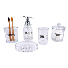 Bathroom Accessories - Danique Collections (Save $11.81) - Qlevo - Clever Living