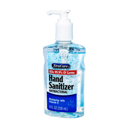 Hand Sanitizer Per Bottle, 8 oz. - Qlevo - Clever Living