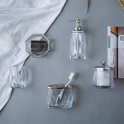 Bathroom Accessories - Halenesee Collection (Save $15.20) - Qlevo - Clever Living